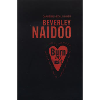Burn my heart by Beverley Naidoo