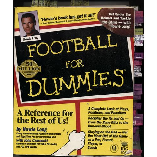 Football for Dummies by Howie Long & John Czarnecki