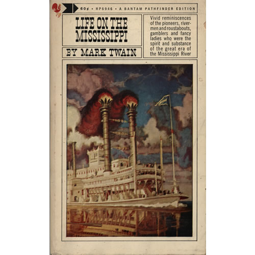 mark twain has introduce america to life on the mississippi Mark twain and the mississippi river mark twain mark twain was born in his book life on the mississippi, twain goes onto say.