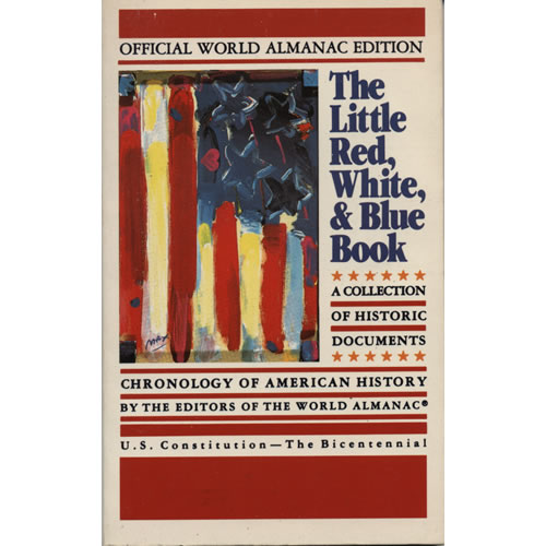 The Little Red White and Blue Book by Jerome Agel and Jason Shulman