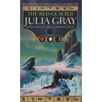 The Red Glacier by Julia Gray