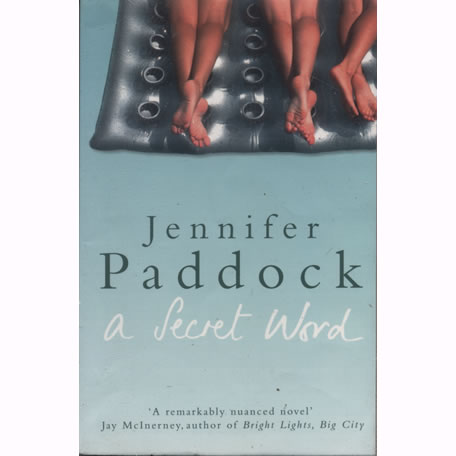 A Secret Word by Jennifer Paddock