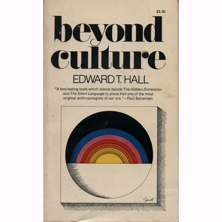 Beyond Culture by Edward T Hall