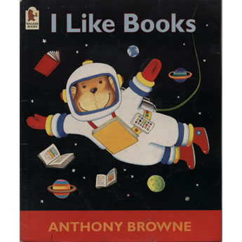 I Like Books by Anthony Brown