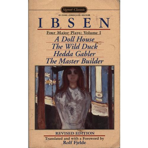 Henrik Ibsen by Rolf Fjelde
