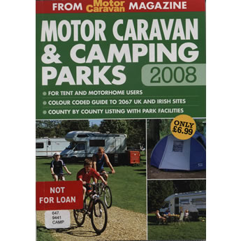 Motor Caravan and Camping Parks by Jake Kennedy