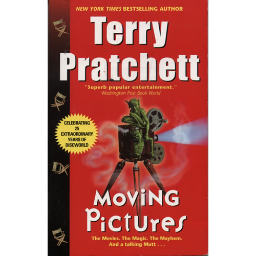 Moving Pictures by Terry Pratchett