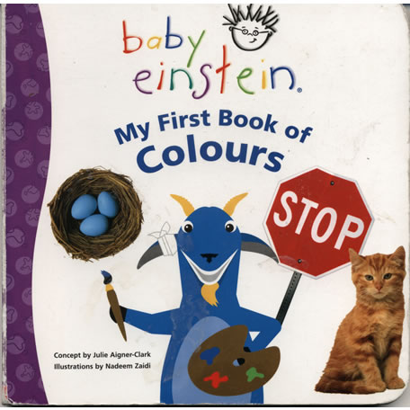 My First Book of Colours  by Nadeem Zaidi