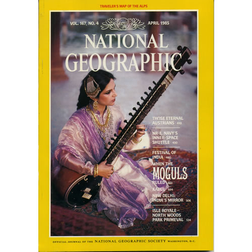 National Geographic 1985 April by National Geographic