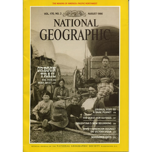 National Geographic 1986 August by National Geographic