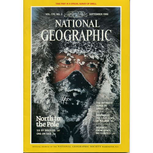 National Geographic 1986 September by National Geographic