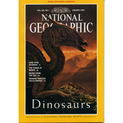 National Geographic 1993 January by National Geographic