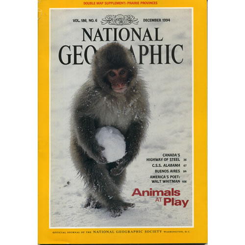 National Geographic 1994 December by National Geographic