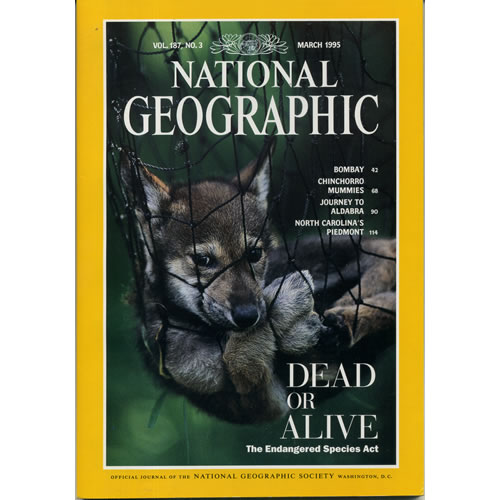 National Geographic 1995 March by National Geographic
