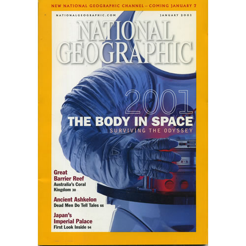 National Geographic 2001 January by National Geographic