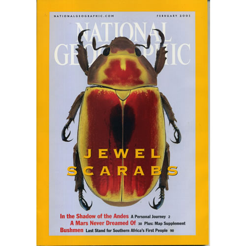 National Geographic 2001 February by National Geographic