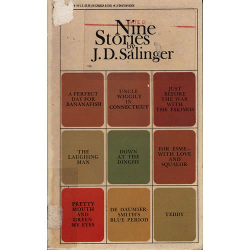 nine stories by j d salinger essay To the most talented writers get the required essay here and forget  condition: j salinger get help writing  nine stories jd salinger pdf.