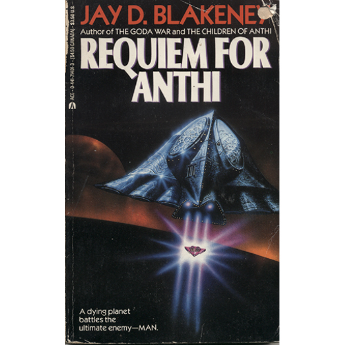 Requiem For Anthi by Jay D Blakeney