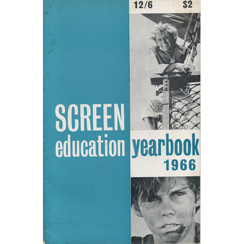 Screen Education Yearbook 1966 by Roger Mainds