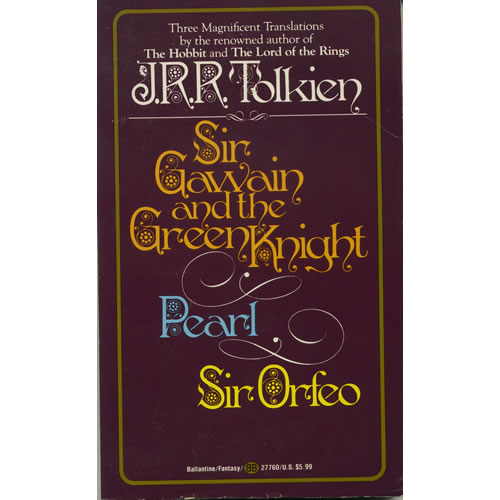 Sir Gawain and the Green Knight by JRR Tolkien
