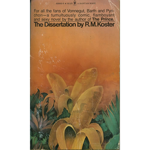 The Dissertation by RM Koster