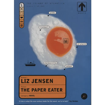 The Paper Eater  by Liz Jensen