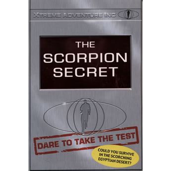 The Scorpion Secret by MA Harvey